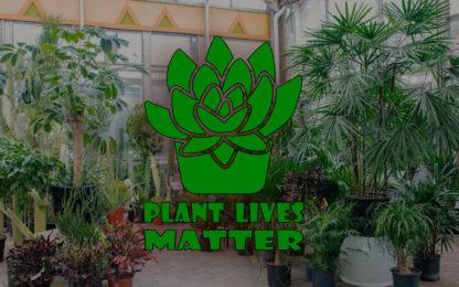 Plant Lives Matter Vinyl Decal Sticker